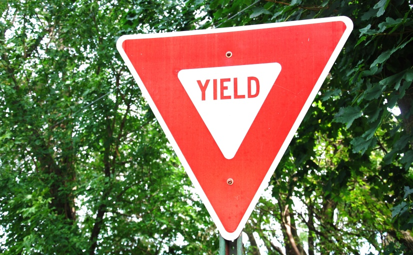 Yield The Right-Of-Way
